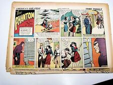 Lee Falk Ray Moore THE PHANTOM SUNDAYS 1941 Halfs PICK ANY 5 DATES!
