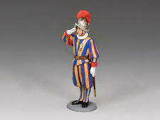 CE019 Swiss Guardsman Corporal Saluting by King & Country