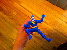 Power Rangers Dino Thunder Blue Ranger kicking action toy McDonald's Collectible