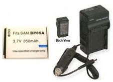 Battery + Charger for Samsung EABP85A EC-SH100ZBPRUS