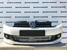 VW GOLF MK6 HATCHBACK CABRIO R LINE 2009-2013 FRONT BUMPER IN WHITE [V233]