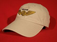 Northwest Airlines Pilot Wings Comemorative ball cap low-profile hat - stone