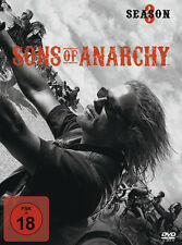 Sons of Anarchy - 3 Season / 3 Staffel  - 4 DVD Box - Neu u. OVP - FSK 18