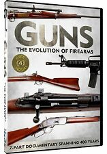 GUNS: THE EVOLUTION OF FIREARMS (2 DVD SET) NEW AND SEALED