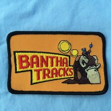 Vintage Star Wars Iron On Patch Bantha Tracks Fan Club Only NOS