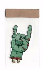 STICKER VINYL BIKE MOTORCYCLE DECAL CAR HELMET ROCK HAND ZOMBIE FREEDOM 56d