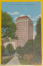 Medical Arts Building 1940s Fort Worth Texas Postcard Great Color Pic Nice See!