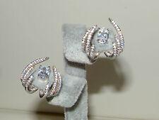 925 Silver Earrings,Ear cuff,Huggies Hoop,Front Back Studs,Double sided earrings