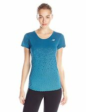 New Balance Women's Accelerate Short Sleeve Graphic Shirt BNew with Tags