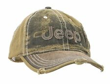 Jeep Cap, Kappe Heavy Stone washed Olive Green