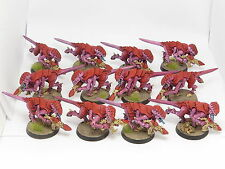 TERMAGANTS x 12  -  Painted Gaunts, Warhammer 40K Tyranids Army