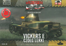 First to Fight 029 light tank Vickers E one turret