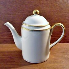 Fitz & Floyd PALAIS BUFF 5 Cup Coffee Pot MINT