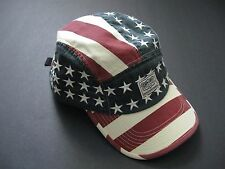 DENIM & SUPPLY RALPH LAUREN Men's Canvas American Flag Hat One Size