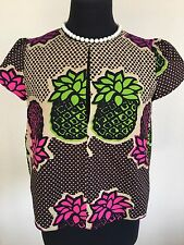 CUTE MOSCHINO Cheap and Chic Women's Top Blouse Sz 6
