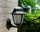 4 Sieded Vintage Exterior Outdoor Wall Lamp Sconce Lantern Light Fixture Patio