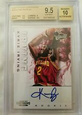 2012-13 Kyrie Irving Panini Contenders Auto RC Rookie.... BGS 9.5 w/ 10 auto