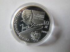 10 zł.Conrad Korzeniowski  UNC 14,14  grama Ag 925