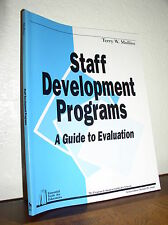Self Development Programs-A Guide to Evaluation by Terry Mullins (PB,1994,NEW)