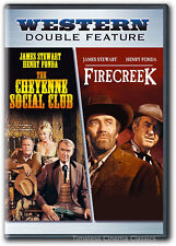 The Cheyenne Social Club/Firecreek DVD New Henry Fonda James Stewart