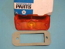 NOS Mopar 1965 Dodge Dart Left Amber Directional, Parking Lens