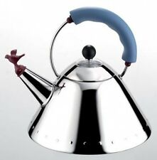 ALESSI MICHAEL GRAVES KETTLE BLUE HANDLE (9093) - NEW