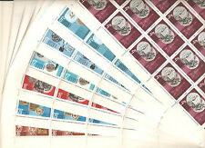 USSR 1968..n° 3432-38..MNH..YT 162,50€.. AWARDS TO SOVIET POST OFFICE (7 Sheets)
