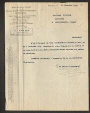 BOURGES (18) ECOLE CENTRALE de PYROTECHNIE en 1924