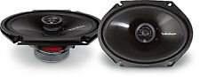 "ROCKFORD FOSGATE 6X8"" PRIME 2 WAY CAR SPEAKERS R1682"