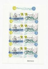China Macau Ocean Martime Heritage ship Crab fish stamp full sheet MNH