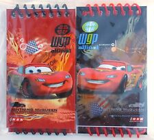 Party Favors DISNEY CARS Spiral Memo Pads Birthday Loot Bag Fille 4 Pack