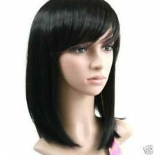 vogue long black straight health hair fashion wig wigs for women