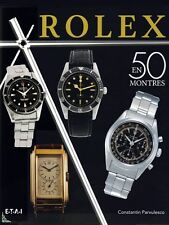 ROLEX in 50 watches, French book