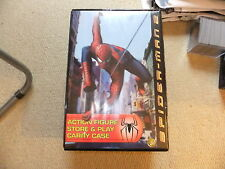 Spider man 2 action figure store and play carry case