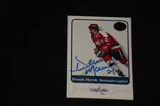 DENNIS MARUK 2001 FLEER GREATS OF THE GAME SIGNED AUTOGRAPHED CARD #6