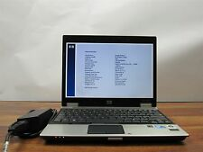 "HP EliteBook 2530P 12.1"" Core 2 Duo L9400 1.86GHz 2GB RAM DVD+RW NO HDD"