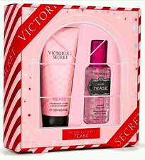 VICTORIA'S SECRET NOIR TEASE SCENTED BODY MIST & FRAGRANCE LOTION GIFT SET