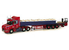 Scania T Dropside with Sand Bag Load and Moffett Mounty (Larkins Logistics)