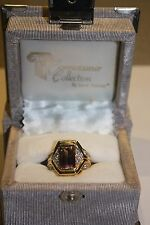 Laura Ramsey Connoisseur Collection 4.0ct ametrine ring, size 7 w/.36ct sapphire