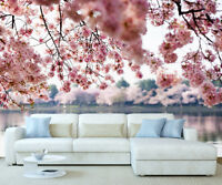 Giant Plum Blossom Flowers Wall Mural Photo Wallpaper Picture Self Adhesive 1077