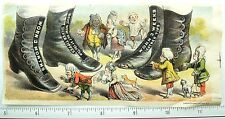 Fred T. Andrew Silver Tip Shoes, Giant Shoes, Charlottesville, VA Trade Card #T