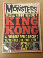 FAMOUS MONSTERS OF FILMLAND #25 VG KING KONG WARREN HORROR MAGAZINE