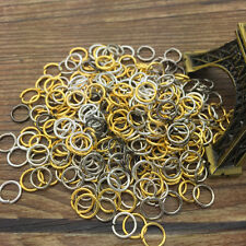 New DIY 300Pcs 6MM Mix Color Jump Rings Open Connectors Jewelry Making Finding