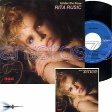 "RITA RUSIC ""UNDER THE ROSE"" RARO 45GIRI ITALO - MINT"