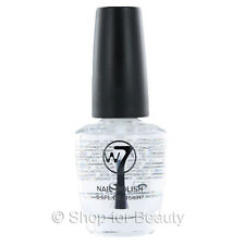 W7 Nail Polish/Varnish - 33 Diamond Top Coat 15ml Clear