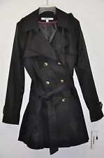NWT Women's DKNY Hooded(Detachable) Double-Breasted Trench Coat. Sz.L  $180