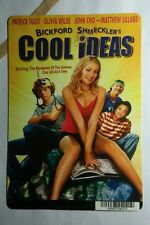 BICKFORD SHMECKLER'S COOL IDEAS PHOTO MINI POSTER BACKER CARD (NOT a dvd movie )