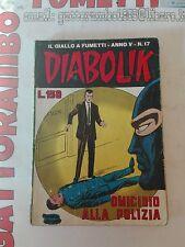 Diabolik N.17 Anno V - Astorina buono++