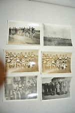 6  PHOTO ancienne vintage   SPORT equipe  FOOTBALL   coupe TEAM   1932