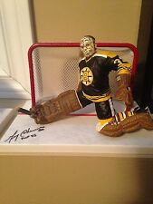 Mcfarlane Nhl Gerry Cheevers Boston Bruins Autographed Signed figure Rare